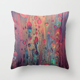 LAVA LAMP Throw Pillow