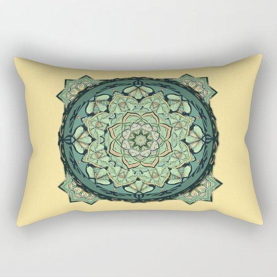 Morris Mandala Rectangular Pillow