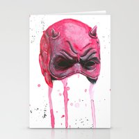 daredevil Stationery Cards featuring Daredevil by McCoy