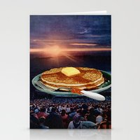 breakfast Stationery Cards featuring Breakfast by Lerson