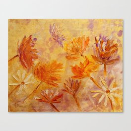 Blaze Of Gold Canvas Print