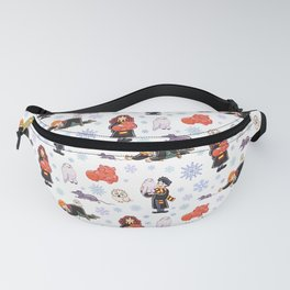 Christmas Harry Ron Hermione pets winter Fanny Pack