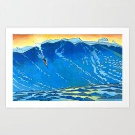 Big Wave Kunstdrucke
