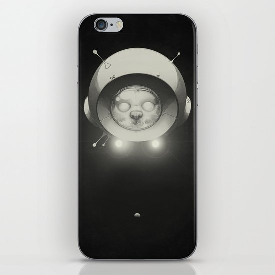 Space Kitty iPhone & iPod Skin