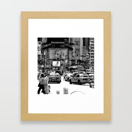New York Times Square Framed Art Print