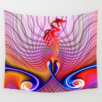 dragon ball Wall Tapestries featuring Dragon by haroulita