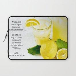 Lemonade And Vodka Laptop Sleeve