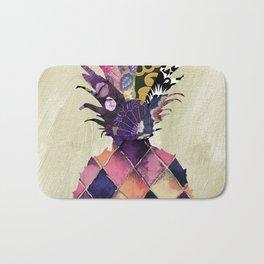 Pineapple Brocade Bath Mat