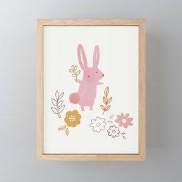 Autumn Friends Framed Mini Art Print