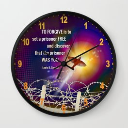 Set Free Wall Clock
