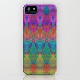 Tribal Diamonds Watercolour iPhone Case
