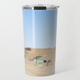 Sahara Desert Home in Morocco Travel Mug