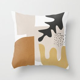 Abstract Shapes  2 Throw Pillow