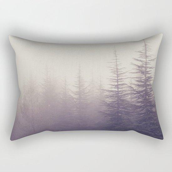 Abetos. Retro Rectangular Pillow