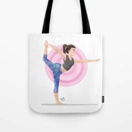 Dancer's Pose Tote Bag