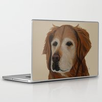 shadow Laptop & iPad Skins featuring Shadow by Ginny M