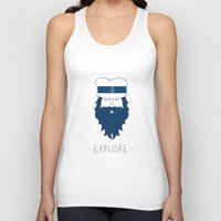 explore Tank Tops featuring EXPLORE by Anthony Morell
