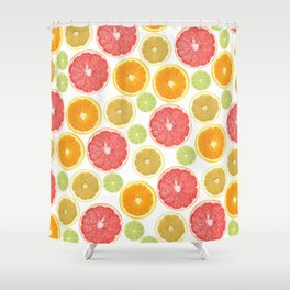 Citrus Love Shower Curtain