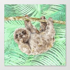 Let's hang out Canvas Print