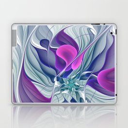 Colorful Life, Abstract Fractal Art Laptop & iPad Skin
