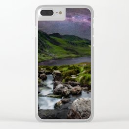 Tryfan by Starlight Clear iPhone Case