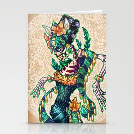 Dance of the Dead Stationery Cards