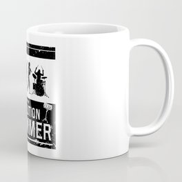 Evolution Drummer | Drums Musician Coffee Mug