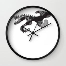 Gos Drac Wall Clock