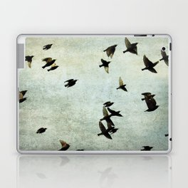 Birds Let's fly Laptop & iPad Skin