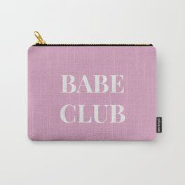 Babeclub pink Carry-All Pouch