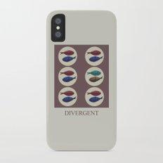 Divergent iPhone X Slim Case