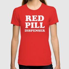 Red Pill Dispenser T-shirt
