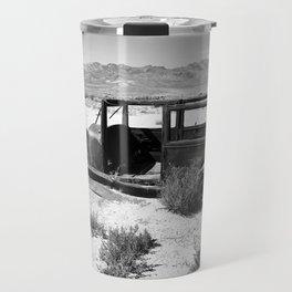 Antique car in Nevada Travel Mug