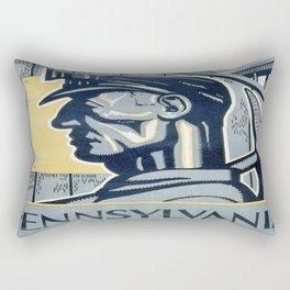 Vintage poster - Pennsylvania Rectangular Pillow