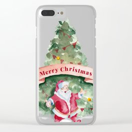 christmas 2 Clear iPhone Case