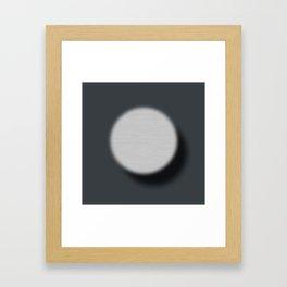 MoonDial Framed Art Print