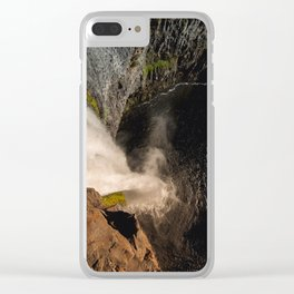 Fear of Heights - Palouse Falls Clear iPhone Case
