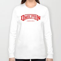 sports Long Sleeve T-shirts featuring DMolition Sports by DMolition