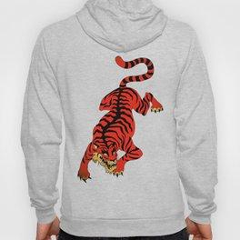Tattoo Tiger Hoody
