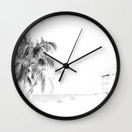 Lifeguard House Wall Clock