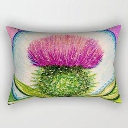 Scottish Thistle Rectangular Pillow