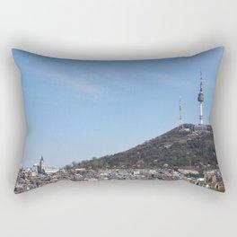 Namsan Tower Rectangular Pillow