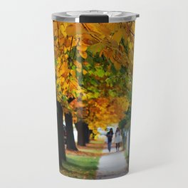 Autumn on My Street Travel Mug