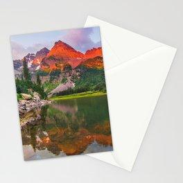 Rocky Mountain Glow Stationery Cards