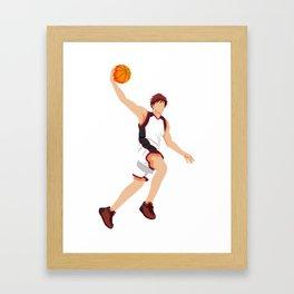 Meteor Slam Framed Art Print