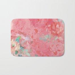 Painted Roses Bath Mat