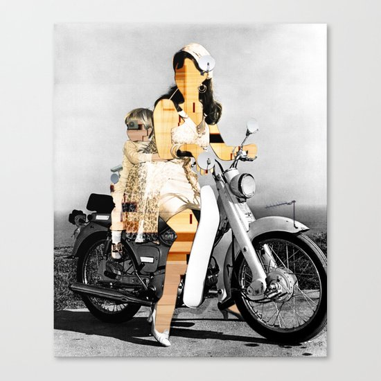 CardinalsRoller Collage Canvas Print