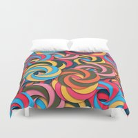 yetiland Duvet Covers featuring Keep It Healthy by Danny Ivan