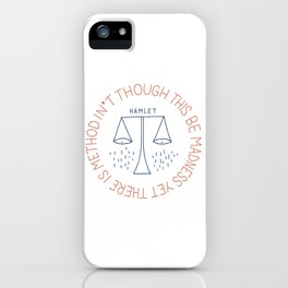 Shakespeare iPhone Case