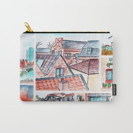 Corners of town little illustrations Carry-All Pouch